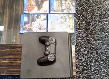 Like new 500 GB PS4 1 controller 5 games best offer!