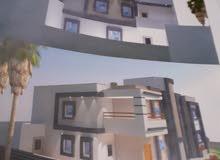 منزل يتكون من دورين  - لبده طريق الساحلي ورشه صالح الحمروني سابقا