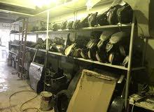 كراج تصليح سيارات لدينا قطع غيار للسيارات مستعمله