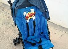 عربة اطفال من سنتر بوينت استعمال خفيف في السفر  وحالتها ممتازة