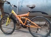 في صنعاء دراجة هوائية رامبوا الأصلي مقاس (24) اسبرنحات خلف وأمام