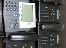 4 Cisco IP phones