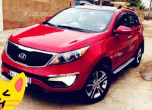 Red Kia Sportage 2012 for sale