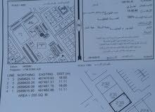 ارض تجارية في صحار مويلح المربع الاول