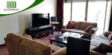 شقة طابق ثاني مفروشة للايجار في عبدون مساحة البناء 90 م