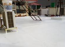 عازل أسطح جيتاروف لمنع خرير المياه +طربال سعودى رش أمريكي