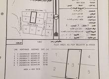 أرض سكنيه في الرميس في موقع جدا رائع للبيع بمساحة 804متر