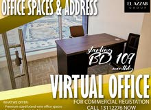 Office Space and address for your CR purpose for rent!Inquire now!