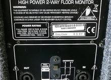Portable Studio Large 2 Behringer Eurolive F1520 Monitors