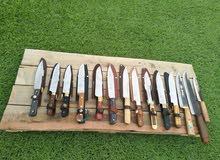 للبيع سكاكين نوعيه ممتازه صناعه باكستان اصليه وحاده جدا نفس الموس
