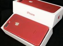 ايفون 7 بلس 256 قيقا احمر متع الوكيل للبيع،،،