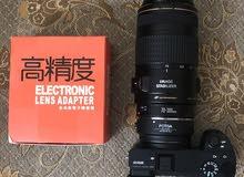 fotga adapter canon lens to sony