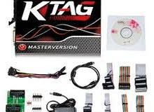 جهاز برمجة بوكس السيارة Online Master Red Ktag