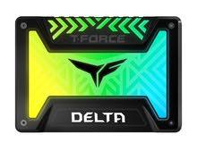 "T-FORCE DELTA 2.5"" 500GB SATA III Internal RGB Solid State Dr"