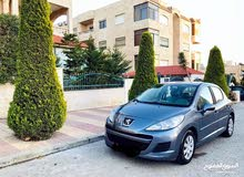 Grey Peugeot 207 2011 for rent