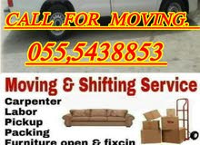 MOVERS AND PACKERS CALL US 0555438853
