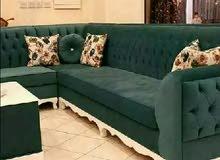 Sofa Making and grass Carpet