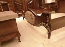 غرفة نوم مصري دمياطي خشب زان ولاتيه