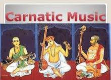 CARNATIC MUSIC TEACHER AVAILABLE IN BUR DUBAI