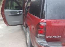 للبيع سيارة شفروليت بليزر اللون خمري موديل 2002 مطلوب 5500الف