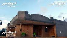 منزل للبيع تاجوراء خلة فارس حي سكني ارض750م بني حديث 380ألف