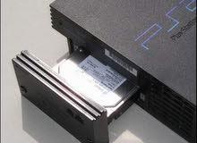 هارد للبلايستيشن تو Playstation 2 عليه 50 لعبه جاهز للتشغيل 80 جيجا
