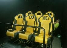 سينما الواقع الافتراضي 9D  كراسي متحركه 6كراسي