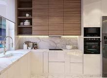 شركة عالم الرويال تصميم افضل المطابخ بجودة عالية وسعر مناسب ودقة في المواعيد