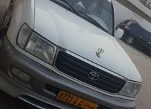 White Toyota Land Cruiser 2002 for sale