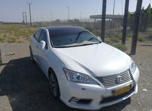 White Lexus ES 2011 for sale