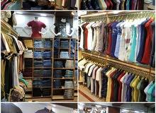 مخل ملابس رجالية للبيع خلو في البصرة - شارع الوطن /مول الوطني سنتر الطابق الاول