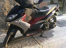 Yamaha motorbike made in 2013