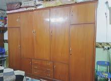 غرفة نوم صاج نضيفه كامل ملحقاتها