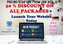 Budget Websites from 299 AED