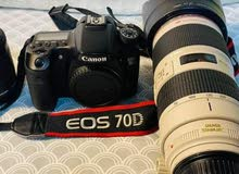 i need dslr Camera with lenses d70 or d90 same like this camera with all accessories lenses