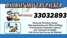 Very low price house Villa flat packing Moving shifting all bahrain