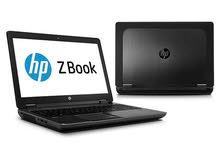 لابتوب hp Zbook workstation