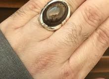 للبيع خاتم فضة كوك صياغة محلية ب120