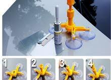 معالج شروخ زجاج السياره-Car glass cracks processo