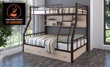 سرير معدني بدورين بأحدث تصميم 2021
