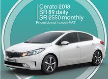 Kia Cerato 2018 for rent