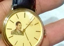 Rofania swiss watch with saddam Hussein picture in dial