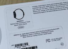 Apple Watch Series 6 (GPS, 44mm) - Black 1500