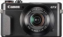 كاميرا Canon g7x mark ii