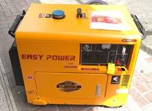 مولد كهرباء ديزل 8 كيلو صافي كاتم