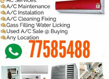 Ac repair and maintenance and service please call me 77585488
