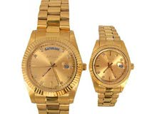 GOLd PAIR WATCH