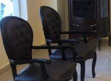 كرسي مدير خشب زان احمر