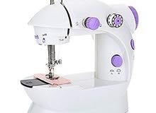 ماكينة خياطة ضمان سنتين بشكلها الجديد105ريال