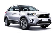 للايجار mini jeep 2018 hyundai creta